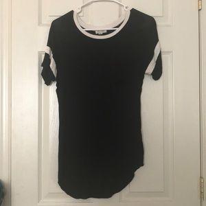 XS Ultra Flirt Black T-shirt